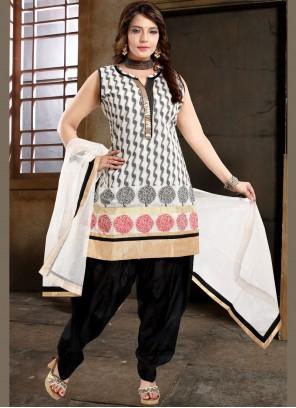 Fancy Ceremonial Designer Patiala Suit