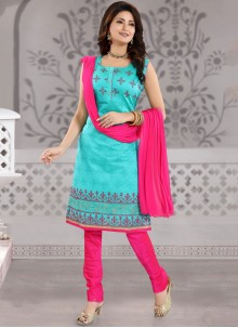 Fancy Churidar Designer Suit