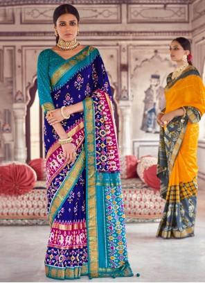Fancy Engagement Classic Designer Saree