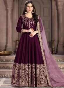 Fancy Fabric Anarkali Salwar Suit