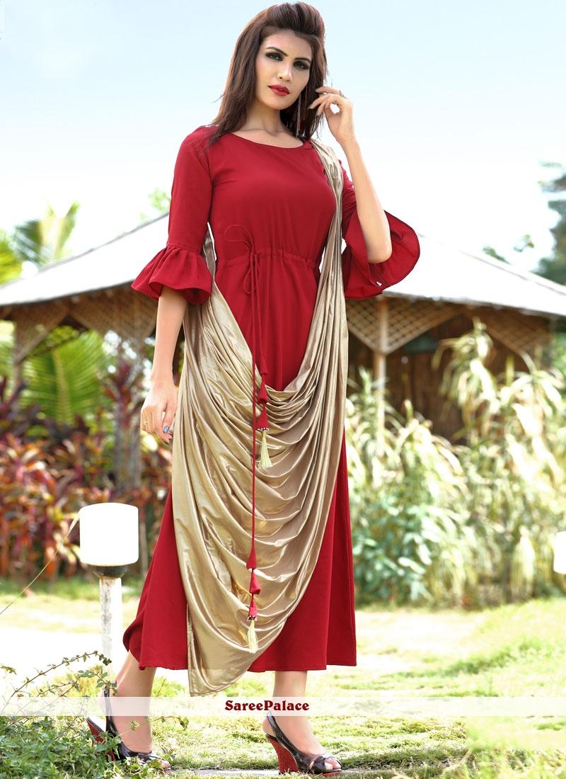 Fancy Fabric Designer Kurti