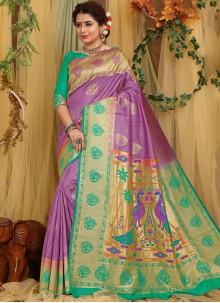 Fancy Fabric Designer Traditional Saree
