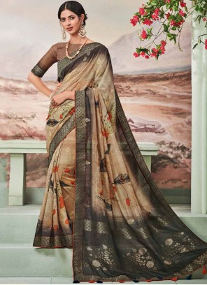 Fancy Fabric Fancy Multi Colour Designer Traditional Saree