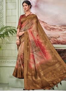 Fancy Fabric Fancy Multi Colour Traditional Designer Saree