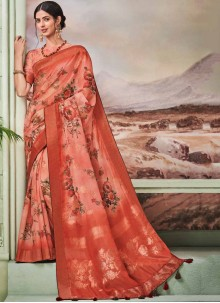 Fancy Fabric Fancy Traditional Designer Saree in Multi Colour