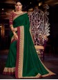 Fancy Fabric Green Classic Saree