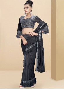 Fancy Fabric Party Classic Saree