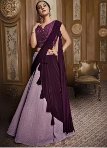 Fancy Fabric Pink Designer Lehenga Choli