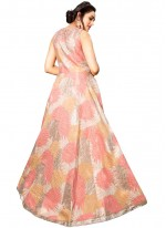 Fancy Fabric Readymade Gown