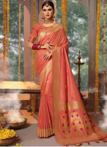Fancy Fabric Traditional Designer Saree