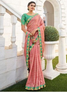 Fancy Fabric Traditional Saree