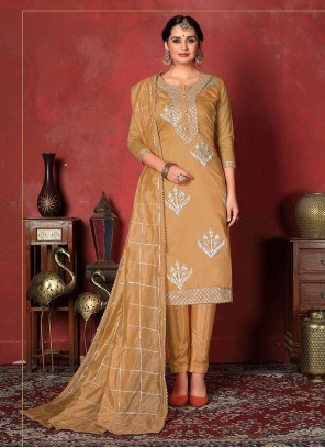 Fancy Festival Churidar Designer Suit