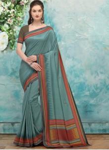 Rama Fancy Silk Traditional Saree