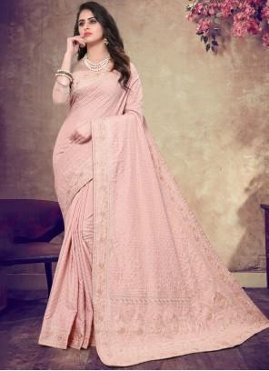 Faux Georgette Bridal Classic Designer Saree