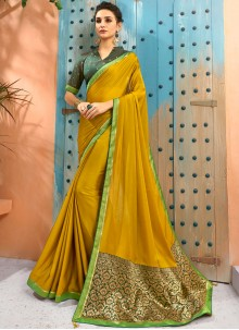 Faux Georgette Casual Traditional Saree