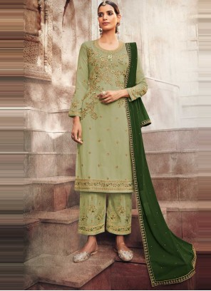 Faux Georgette Designer Pakistani Salwar Suit