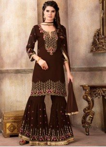Faux Georgette Designer Pakistani Suit