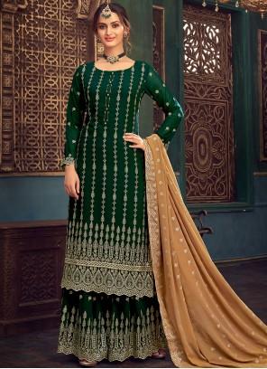 Faux Georgette Festival Designer Pakistani Salwar Suit