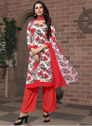 Faux Georgette Pakistani Suit