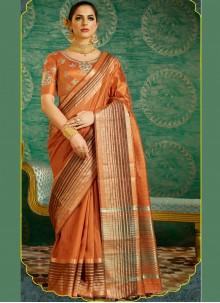 Flamboyant Silk Designer Saree