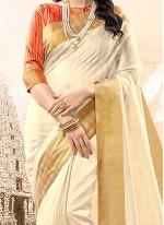 Genius woven Work Traditional  Saree