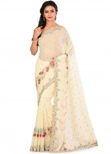 Georgette Ceremonial Designer Saree