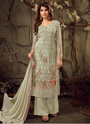 Georgette Ceremonial Designer Suit