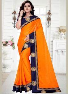 Georgette Ceremonial Trendy Saree