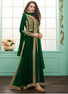 Georgette Embroidered Salwar Suit