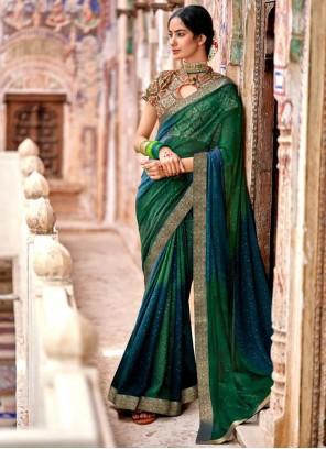 Georgette Fancy Classic Designer Saree