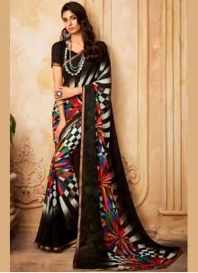 Georgette Fancy Printed Saree