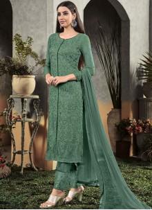 Georgette Festival Designer Pakistani Salwar Suit
