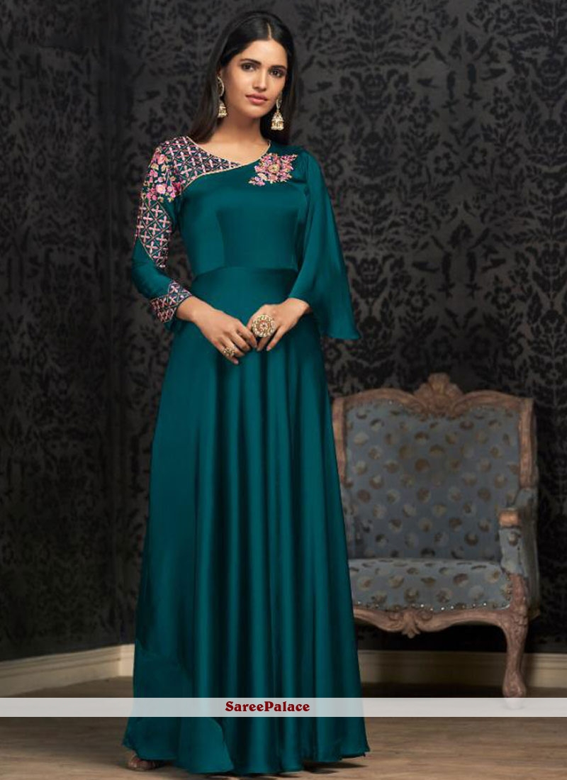 Georgette Party Readymade Designer Gown