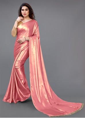 Georgette Satin Fancy Classic Saree