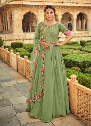 Georgette Trendy Salwar Suit