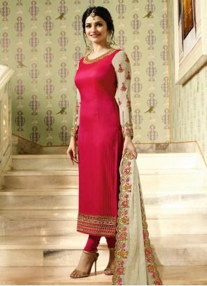 Glitzy Hot Pink Salwar Kameez