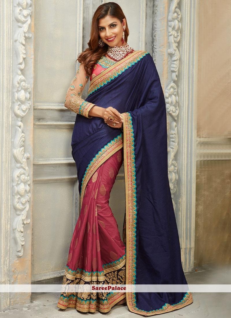 Glowing Art Silk Designer Traditional Saree