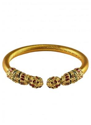Gold Stone Work Bangles