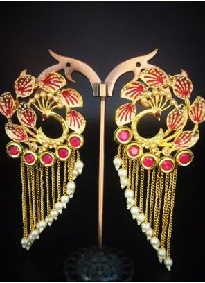 Gold Ceremonial Ear Rings