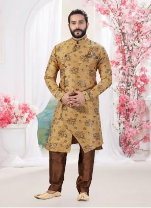 Gold Ceremonial Indo Western