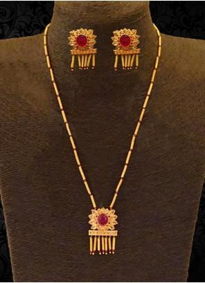 Gold Ceremonial Pendant Set