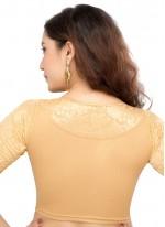 Gold Color Designer Blouse
