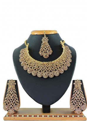 Gold Color Necklace Set