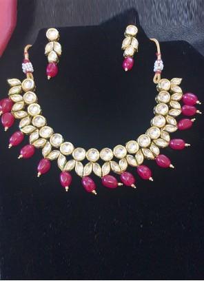 Gold Diamond Ceremonial Necklace Set