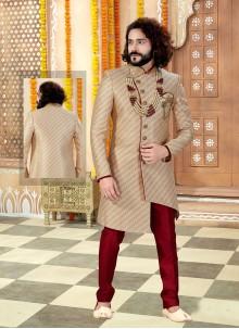 Gold Embroidered Sherwani