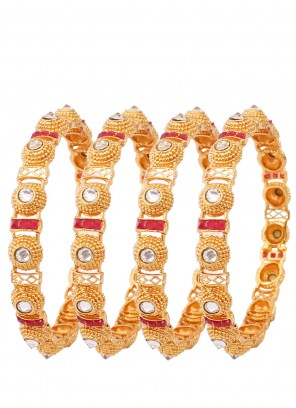 Gold Engagement Bangles