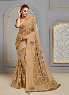 Gold Festival Designer Saree