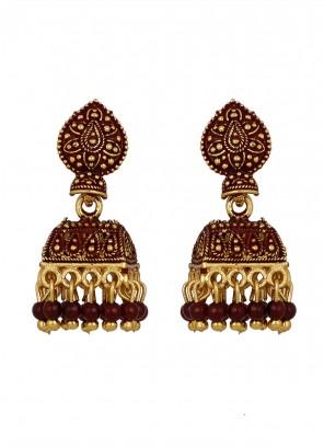 Gold Festival Ear Rings