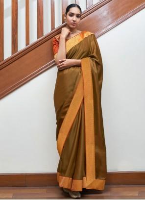 Gold Lace Traditional Designer Saree