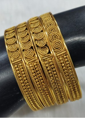 Gold Party Bangles